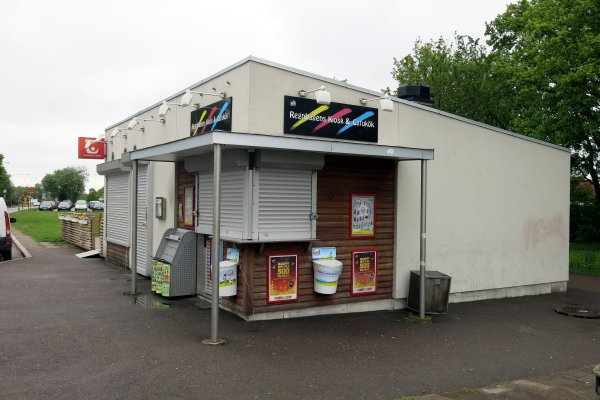 kiosk till salu