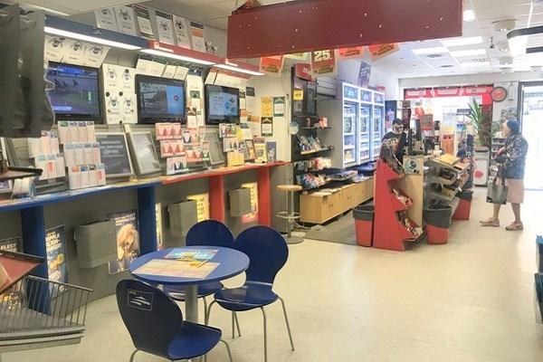 spelbutik till salu